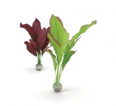 biOrb Seidenpflanzen Set M grün & lila